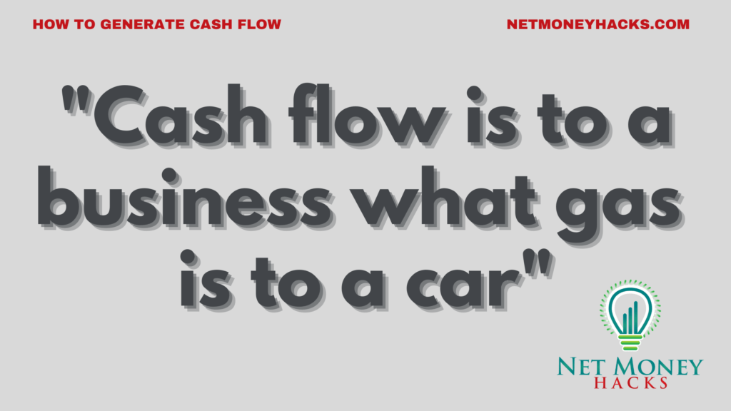 Cash flow is important to every business