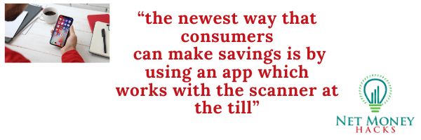This quote illustrate how receipt apps make money by integrating with scanners at the till