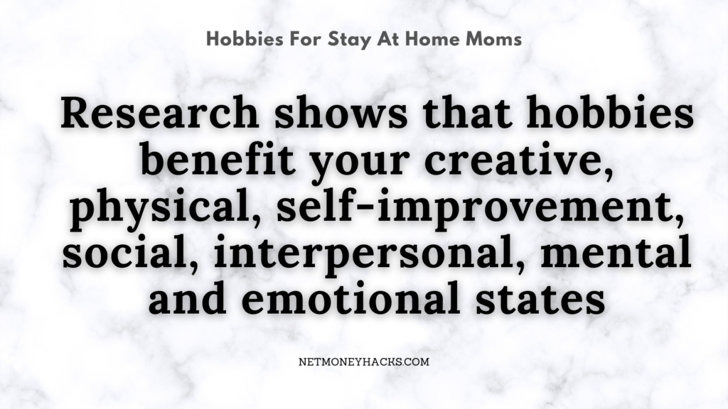 Between Hobbies for Stay at Home Moms Or Going Back To Work? 1 Secret To Success 1